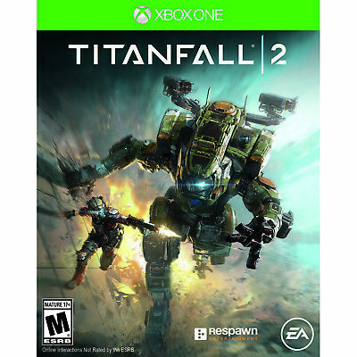 Ea Titan Fall 2 Xbox One Fps First Person Shooter Video Game Mech Multi Single