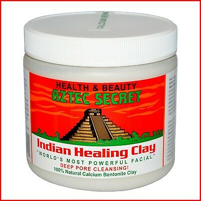 Aztec Secret Indian Healing Clay Deep Pore Cleansing 100% Natural Facial Mask