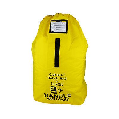Car Seat Travel Bag - Ultra Rugged Ballistic Nylon, Best for Airplane Gate