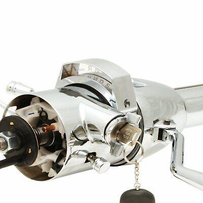1955 - 1969 Fairlane Chrome Steering Column Hot Rod Street Rod Shift KEYED