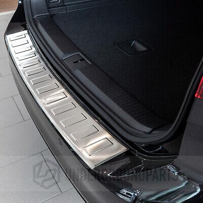 2014-2018 VW Passat B8 Estate Chrome Rear Bumper Protector Scratch Guard S.Steel
