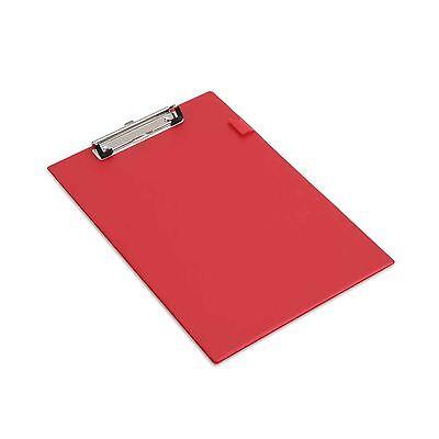 Value Pvc Clipboard A4 Red Clip Board