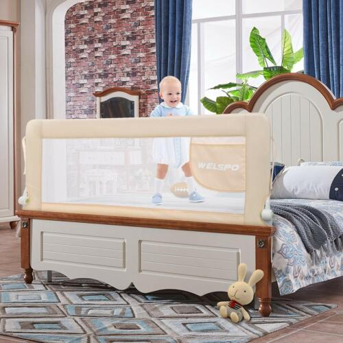 59 Inches Bed Rail for Toddlers Fold Down Safety     R