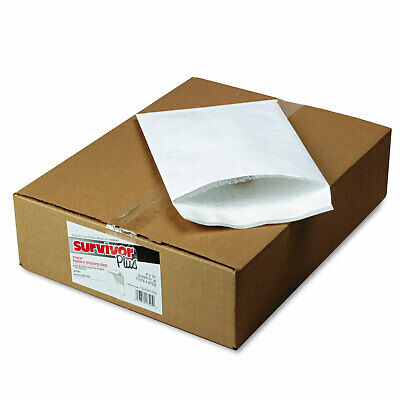 Survivor Dupont Tyvek Air Bubble Mailer Self Seal 9 X 12 White 25box R7525