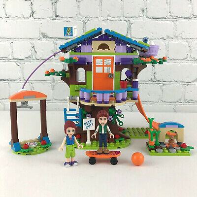 Lego Friends 41335 Mia's Tree House With Manual And Box