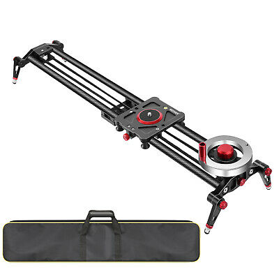 Neewer Camera Slider Video Track Dolly Rail Stabilizer 31-inch/80cm for Filming