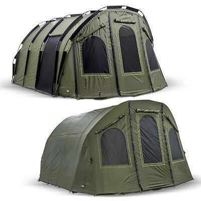 "5 3 6 Mann Bivvy Carp Dome Tent Lucx® Karpfenzelt /""Bigfoot/"" Angelzelt 2 4"