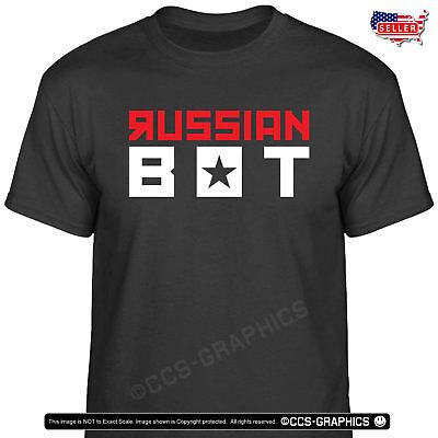 Russian Bot T Shirt   Tweet Trump Train Putin Campaign T Shirt Usa Tee Maga 2020