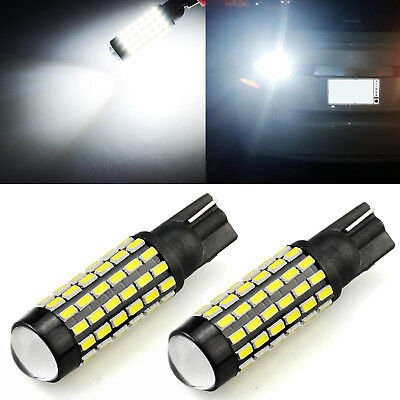 JDM ASTAR LED Backup Reverse Lights Bulbs 2x 78SMD 6000K White 921/912 T10/15