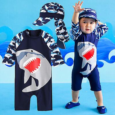 "Vaenait Baby Toddler Boys Swimwear Cap Bathing Suit ""Cooling"