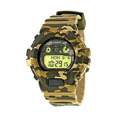 Casio G-Shock Unisex GMDS6900CF-3 S Series Quartz Camouflage Resin 46mm Watch