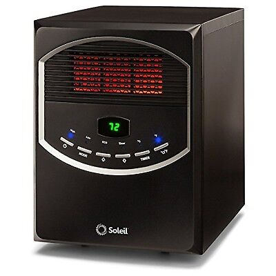 Soleil Ph-91s Electric Infrared Radiant Heater, 1500 covid 19 (Electric Infrared Radiant Heaters coronavirus)