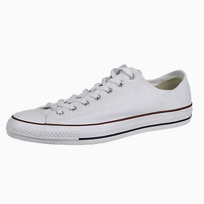 Converse Chuck Taylor Mens Low Top Shoes X7652 Optical White sz 13