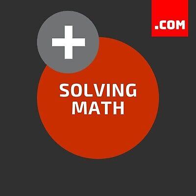 Solvingmath.com - Valuable Brandable Domain Name - Dynadot Com Premium Domains
