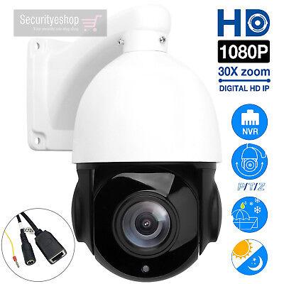 Sony HD 1080P 2MP Outdoor IP Camera 30X Zoom Waterproof PTZ Speed Dome Camera
