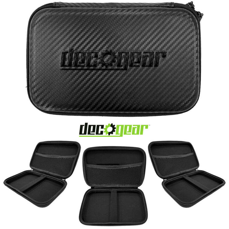 Deco Gear Hard EVA Case with Zipper for Tablets and GPS - 7 Inch