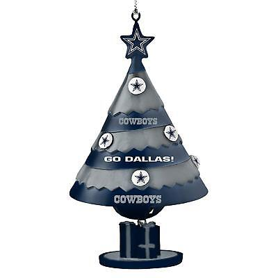 Dallas Cowboys Football Team Logo NFL Holiday Christmas Tree Bell Ornament (Dallas Cowboy Ornaments)