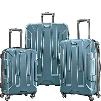 Samsonite Centric 3pc Hardside (20/24/28) Luggage Set, Teal