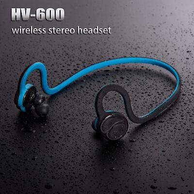 Backbeat Wireless Bluetooth Sweatproof Headset Stereo Sports Earpiece Headphone