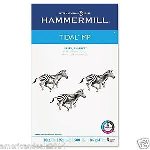 Hammermill Tidal MP Copy Paper 20lb 92 Bright Legal Size 8-1/2 x 14 - 1 Ream NEW