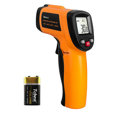 Helect Infrared Thermometer Non-contact Digital Laser