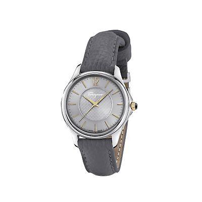 Ferragamo FFV010016 Women's TIME Silver-Tone Quartz Watch