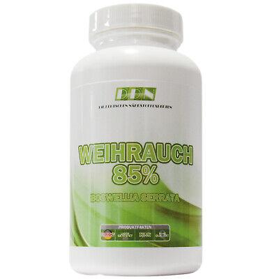Boswellia Serrata Extrakt (Weihrauch Extrakt = 150 Kapseln - 900mg pro Tag - 100% Boswellia serrata Vegan)
