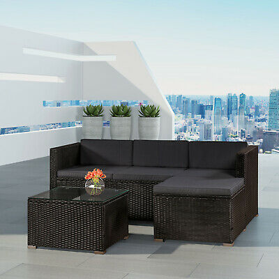 Gartenmöbel Polyrattan Lounge Rattan Gartenset Sitzgruppe Rattanmöbel ArtLife®