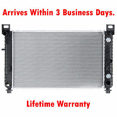 "New Radiator For Silverado Suburban Sierra Tahoe Yukon 4.8 5.3 V8 28"" Wide Core"