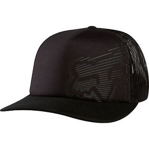 Fox Racing Rapid Snapback Hat Cap Black One Size Fits Most Foxhead