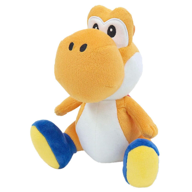 "REAL  6"" Orange Yoshi  Nintendo USA Super Mario Little Buddy"