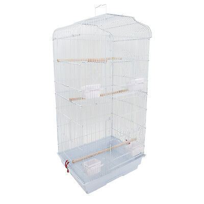 "US 37"" Bird Parrot Cage Canary Parakeet Cockatiel LoveBird Finch Bird Cage&Cups"