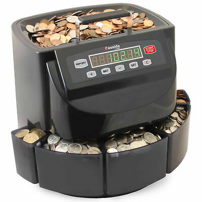 Cassida C200 Coin Countersorterwrapper. Pre-owned And In Excellent Condition