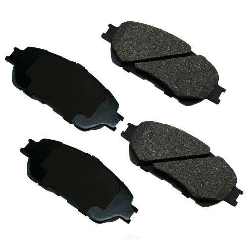 Disc Brake Pad Set-ProACT Ultra Premium Ceramic Pads Front Akebono ACT1280
