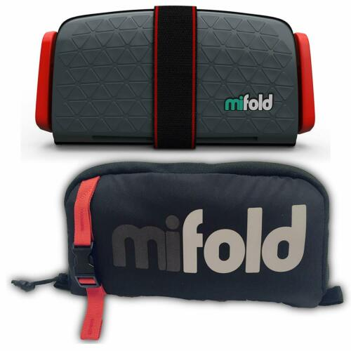 Mifold Grab and Go Car Booster Seat Slate Grey