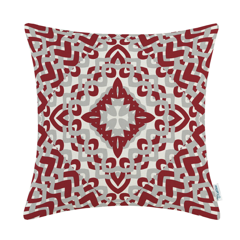 CaliTime Throw Pillows Cushion Cover Shell Home Decor Geomet