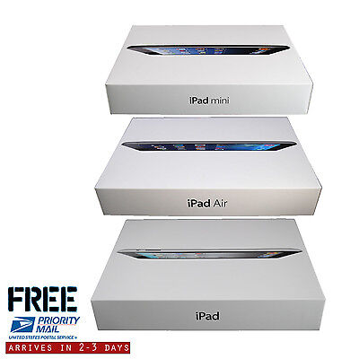 New Apple iPad Air,mini,2,3,4 64GB 32GB 16GB Wi-Fi+Cellular USA TRUSTED SELLER