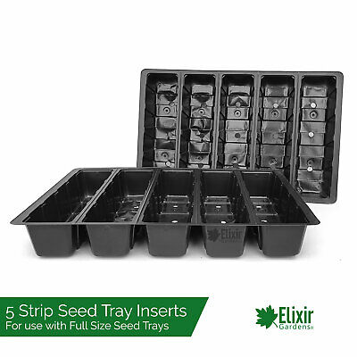 250 x 5 Strip Seed Tray Inserts for Full size Seed Tray