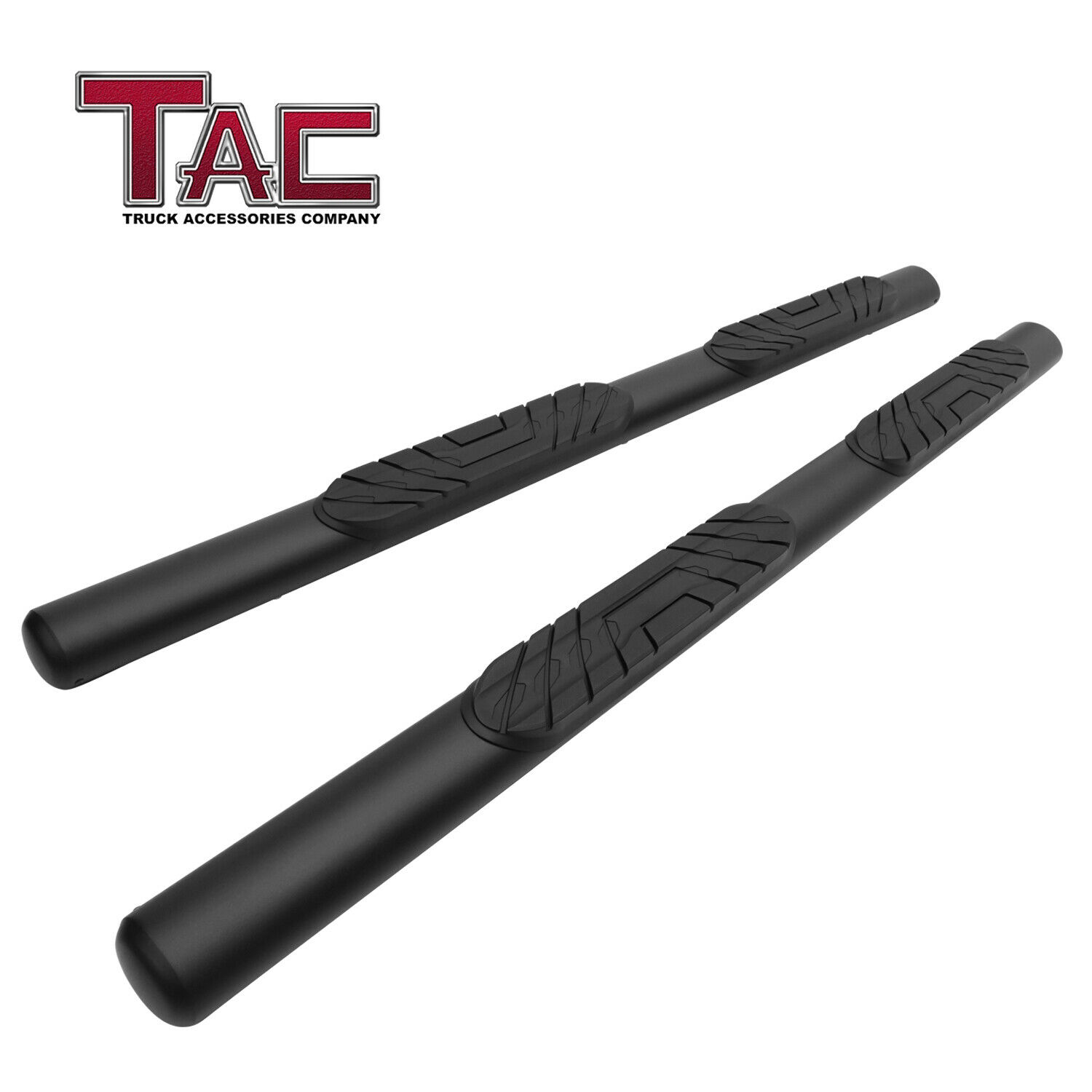 """For 2020 Jeep Gladiator 4"""" Oval Texture Side Step Rails ..."""