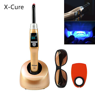 Woodpecker Dental X-cure Gold Curing Light Multifunction Polymerization Fda
