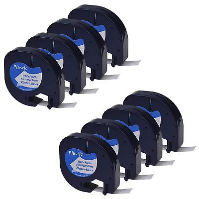 8pk Compatible Dymo Letratag 91221 Lt-100t Lt-110t Label Tape Refill Us Shipping