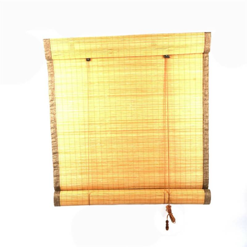 Outdoor Roll-up Shade Bamboo Window Blinds Exterior Shutters