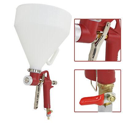 3 Nozzle Air Hopper Spray Gun Paint Texture Tool Drywall Wall Painting Sprayer