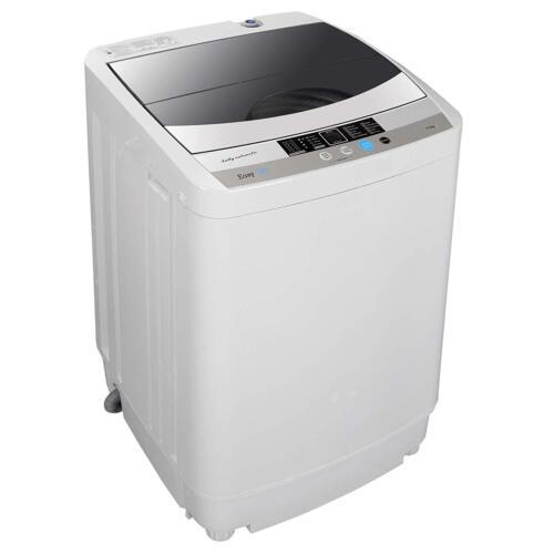 Compact Laundry Washer Full-automatic Washing Machine 1.6 cu