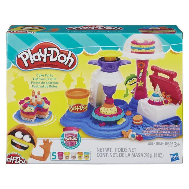 NEW HASBRO PLAY-DOH CAKE PARTY PLAY SET B3399