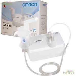 Omron C801 CompAir Lightweight Compressor Respiratory VVT Nebuliser Inhaler Kit