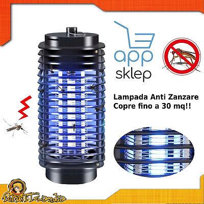 Lámpara Insecticida Antimosquito Mosquitero Eléctrico Para Vuela Insectos UV