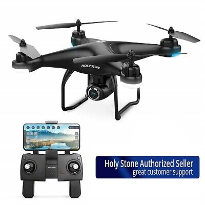 Holy Stone HS120D Selfie GPS Drone 1080P HD Wifi Camera RC Quadcopter Follow Me