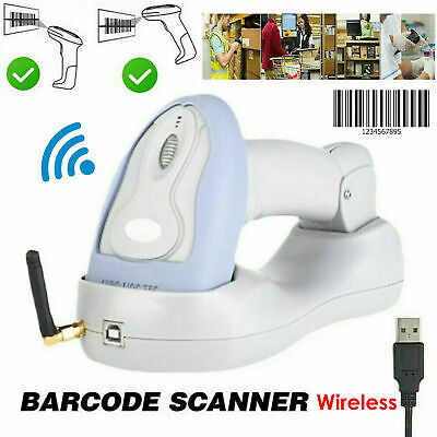 Automatic Laser Handheld Wireless Bluetooth Barcode Scanner Bar Code Reader Gun
