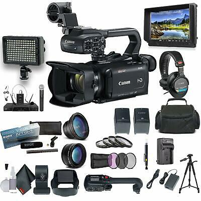 Canon XA15 Compact Full HD Camcorder with SDI, HDMI, and Composite Bundle 2